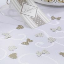 Chic Boutique Table Confetti - Ivory & Gold (14g)